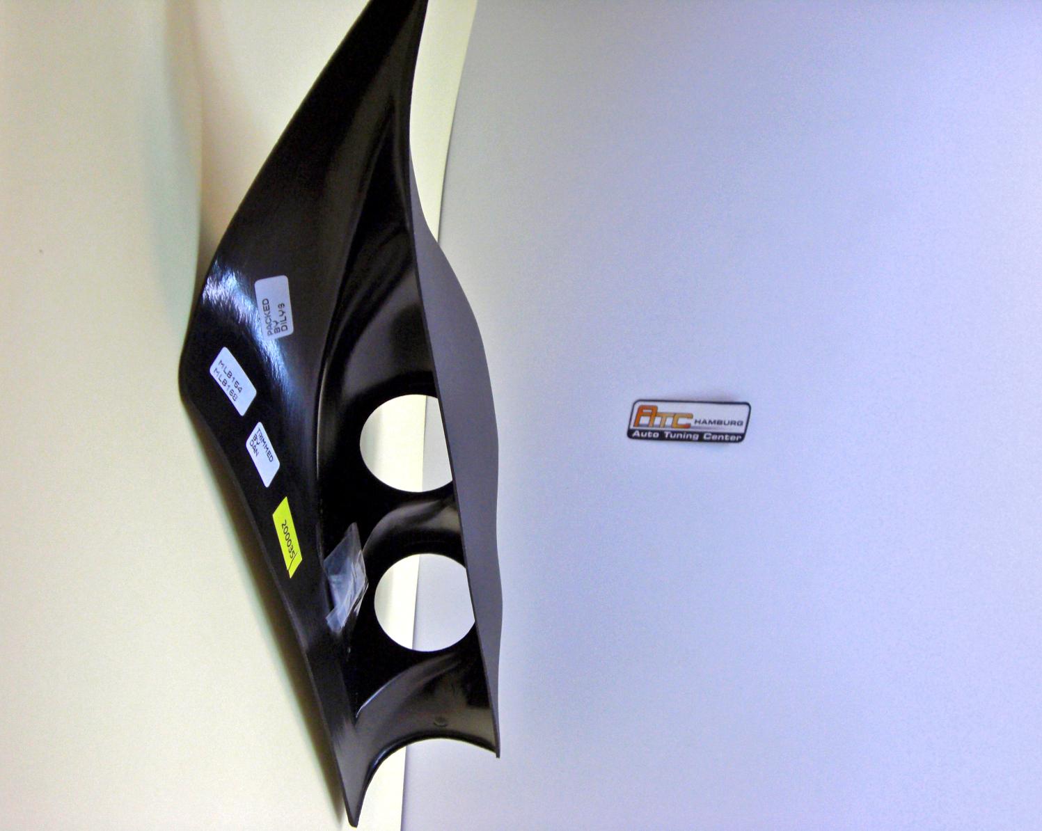 vw golf 4 passend zusatzinstrument a s ulenhalter 2fach. Black Bedroom Furniture Sets. Home Design Ideas